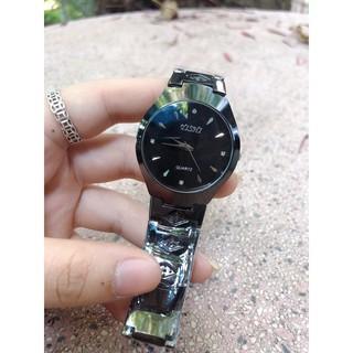 ( Giá Sỉ ) Đồng hồ thời trang Nam Nữ YIShi dây kim loại đen Scse79669