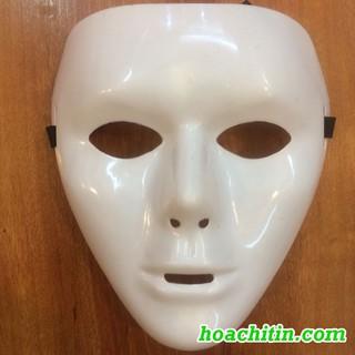Mặt Nạ HipHop Jabbawockeez Trắng Ma Quỷ Kinh Dị Halloween