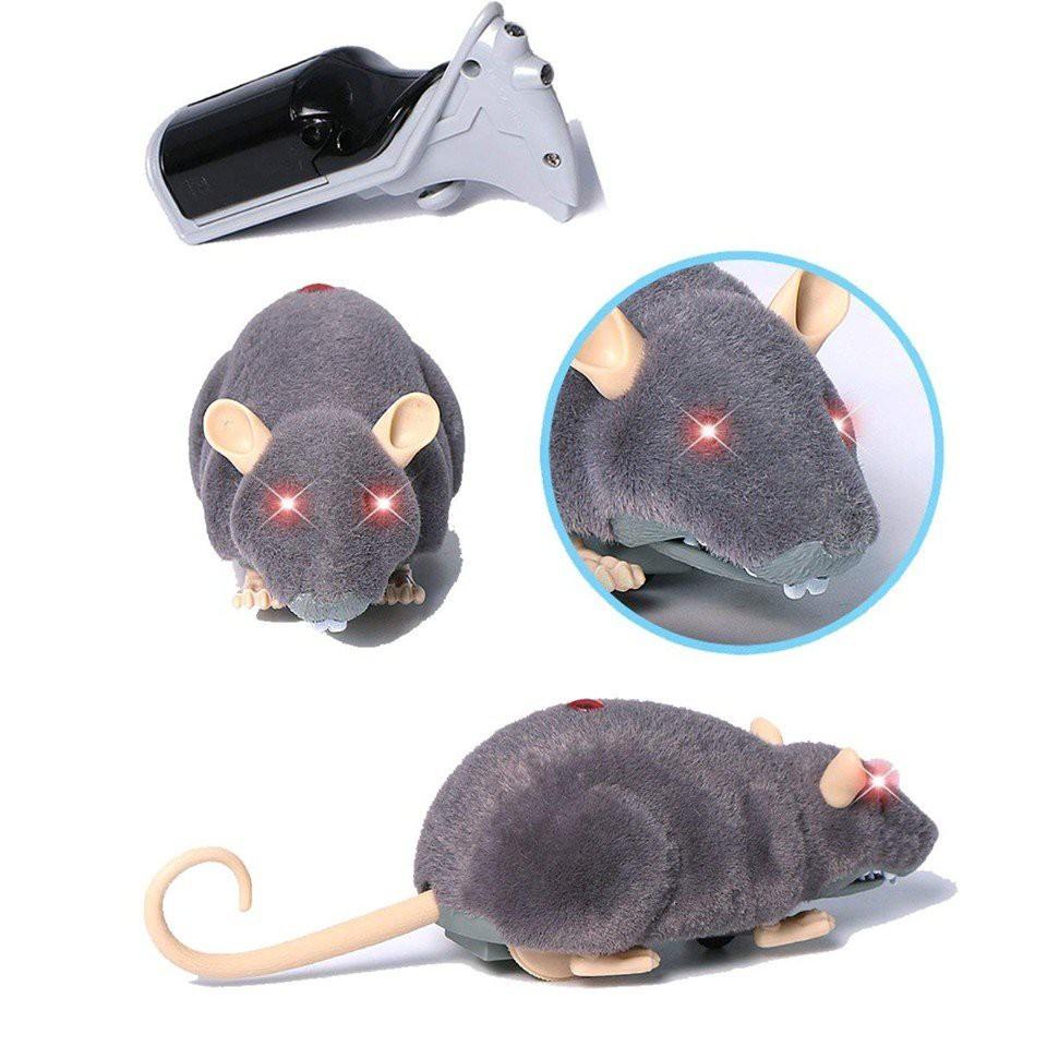 Chuột Điều Khiển Thông Minh - Nhát Cá Tháng 4 (Màu Ngẫu Nhiên)