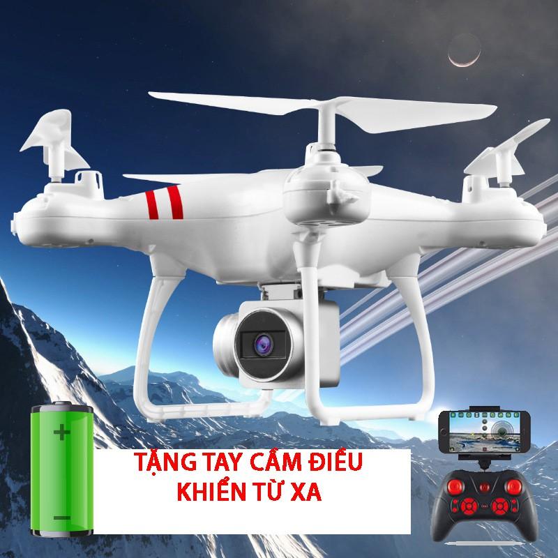 Máy bay Flycam KY101 Cao cấp, kết nối Wifi với điện thoại + Tặng tay cầm điều khiển từ xa
