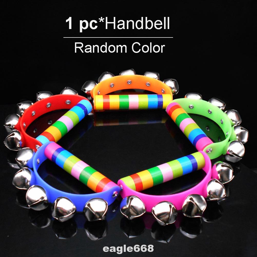 Handbell Shaking Educational Intelligent Toy Rhythm Tambourine