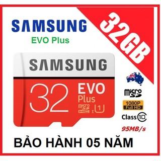 Thẻ nhớ Samsung Plus 32GB Class10 95mb/s model 2018