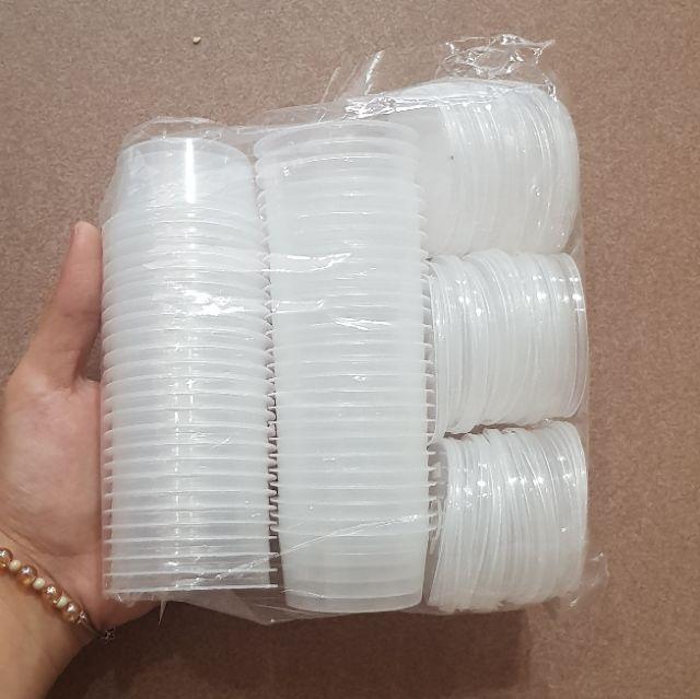 50 Hủ Flan Nhí (40ml) đựng flan, nước sốt