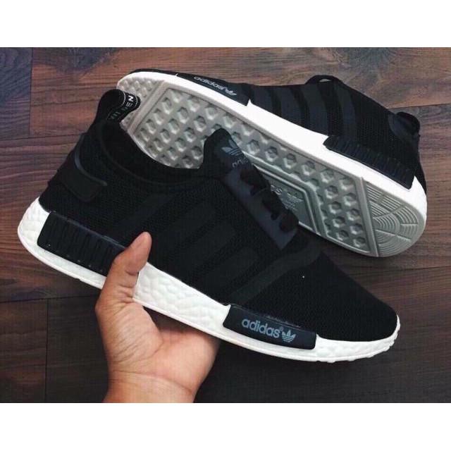 [FREE SHIP] Giày Adidas NMD màu đen trắng