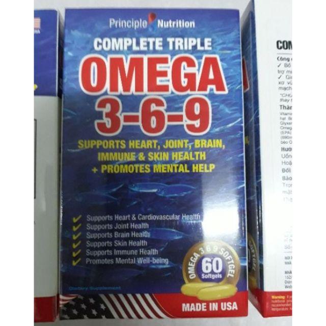 Combo 30ch 0mega369 60 viên Principle Nutrition - 3053418 , 617368762 , 322_617368762 , 5300000 , Combo-30ch-0mega369-60-vien-Principle-Nutrition-322_617368762 , shopee.vn , Combo 30ch 0mega369 60 viên Principle Nutrition
