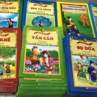 Set 20 cuốn truyện tranh cho bé