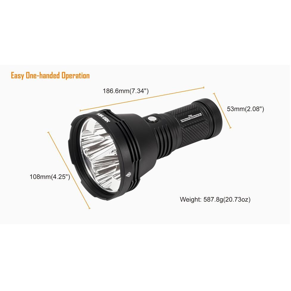 ĐÈN PIN FIRE X65 BẢN DÀI THẾ HỆ MỚI - 5 LED CREE® XHP35 HI