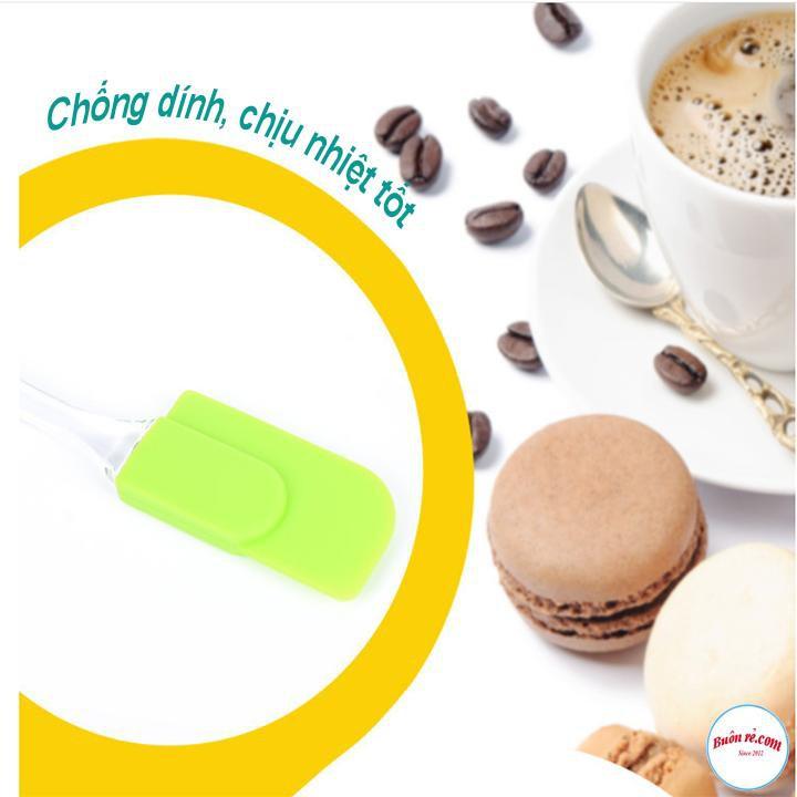 Phới Silicon Vét Bột Làm Bánh Kích Thước Nhỏ Gọn Dễ Dàng Sử Dụng 00771