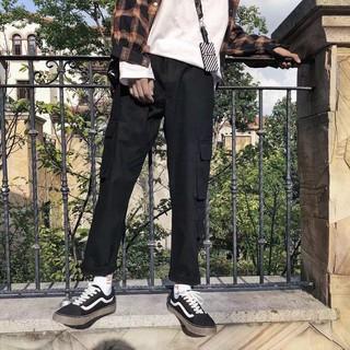 Quần culottes nam #D331, màu đen, size: S-XXL