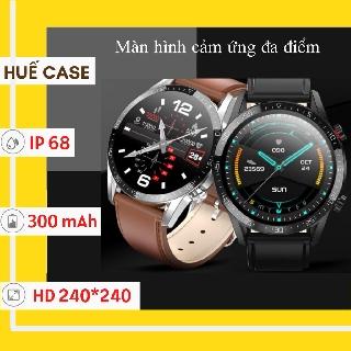 Đồng hồ thông minh nam [ Huế Case ] Đồng hồ thông minh cá tính nghe gọi 2 chiều, cảm ứng siêu mượt [ Smart Watch ]