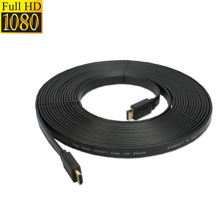 Cáp HDMI 5M dây dẹp - Full HD