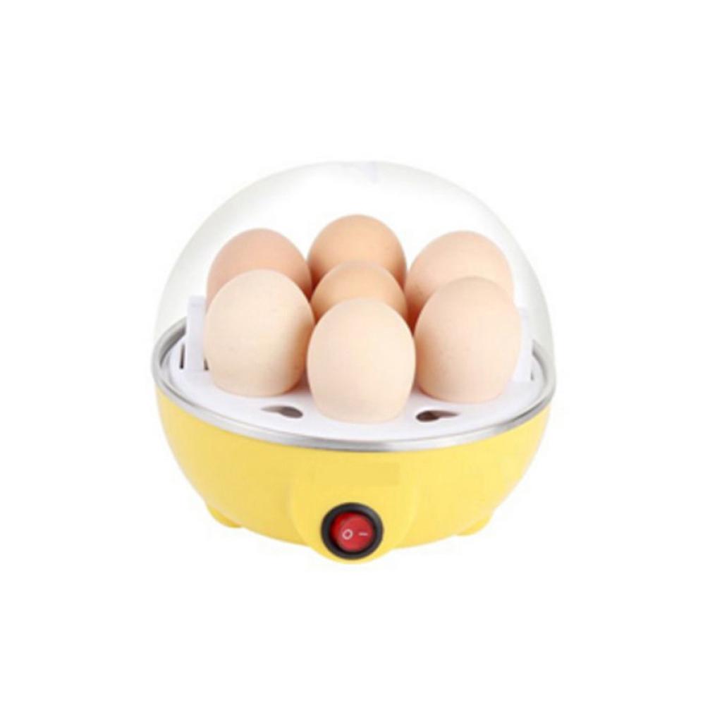 เครื่องใช้ไฟฟ้า Kaidee Egg Cooker เครื่องทำไข่ลวก ไข่ต้ม ไฟฟ้า ขนาดความจุ 7 ฟอง (ํYellow)ครื่องใช้ไฟฟ้า Kaidee Egg Cooke
