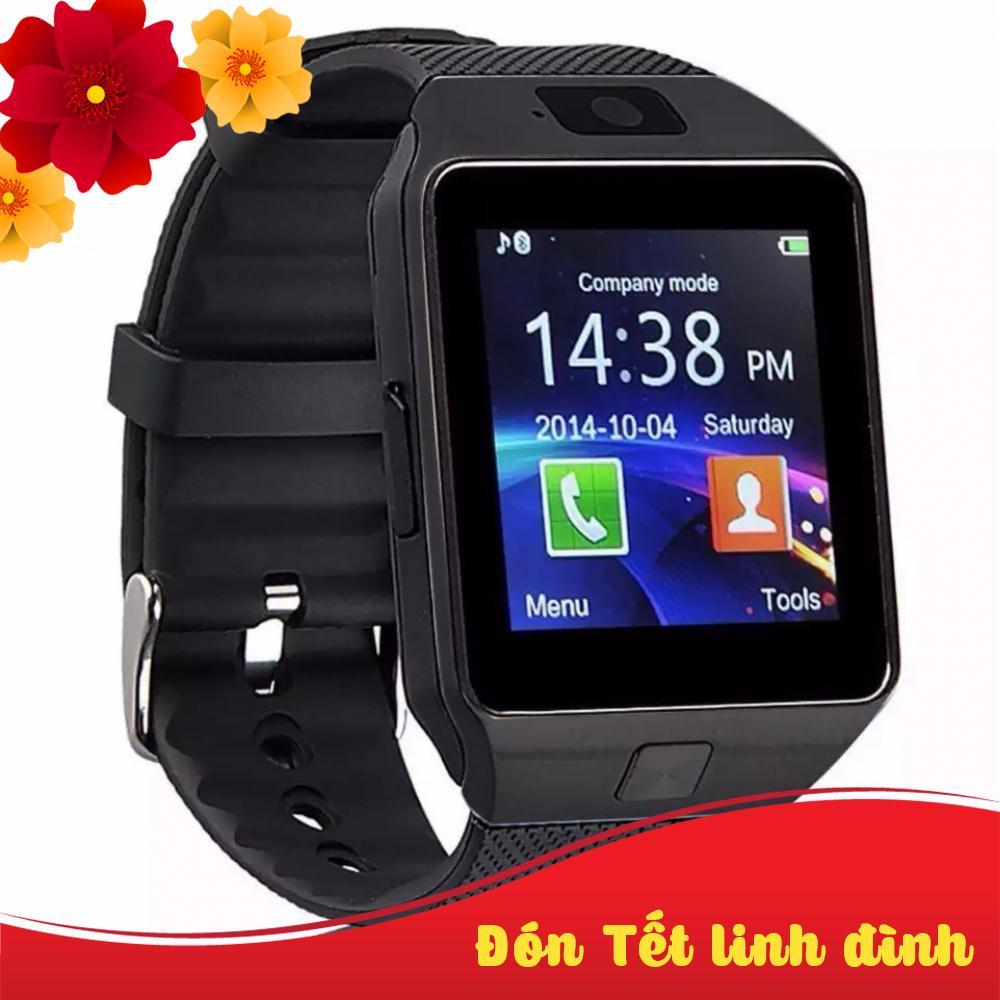 Đồng hồ trẻ em thông minh Smartwatch DZ09 Black Editon thumbnail
