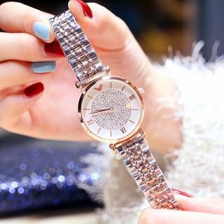 Đồng hồ nữ Prance hàng chính hãng dây thép đặc ko gỉ