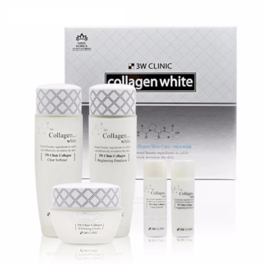 Set dưỡng trắng da 3w Clinic Collagen White Skin Care 3 Set - 2951669 , 628496376 , 322_628496376 , 700000 , Set-duong-trang-da-3w-Clinic-Collagen-White-Skin-Care-3-Set-322_628496376 , shopee.vn , Set dưỡng trắng da 3w Clinic Collagen White Skin Care 3 Set