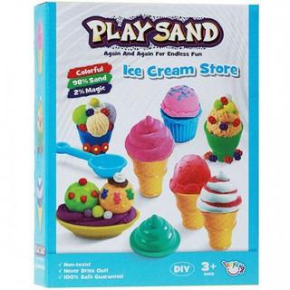 Bộ đồ chơi cát động lực làm kem LZY802 Qyiyi