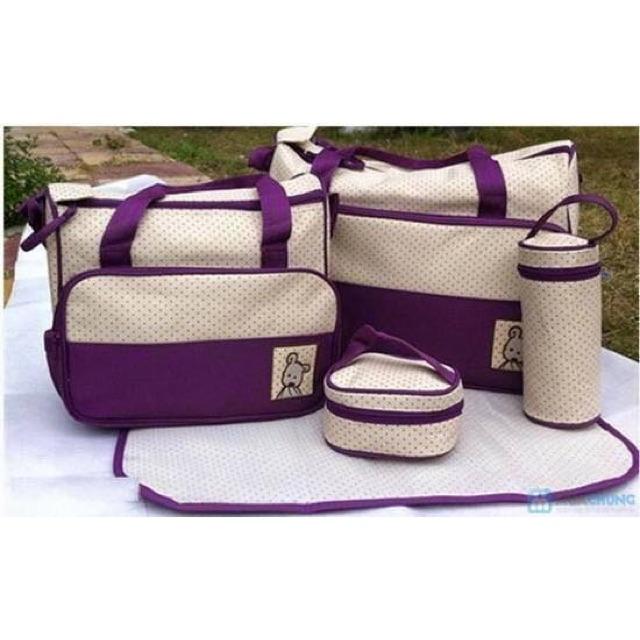 Set túi 5 chi tiết cho mẹ và bé - 14807526 , 117885336 , 322_117885336 , 195000 , Set-tui-5-chi-tiet-cho-me-va-be-322_117885336 , shopee.vn , Set túi 5 chi tiết cho mẹ và bé