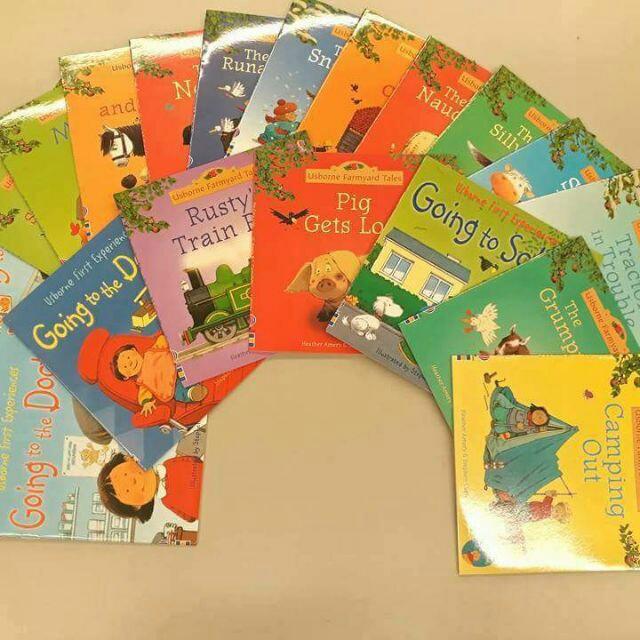 Sách bộ Usborne Farmyard Tales 20 cuốn (sách gốc chuẩn xịn) có đủ 20 file nghe - bộ truyện tiếng anh cho bé