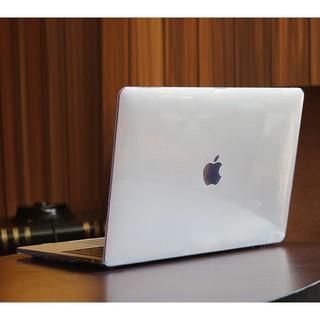 Ốp Macbook , Case Macbook Pro M1 13 (2020 - 2021) trong suốt (Tặng kèm Nút chống bụi + bộ chống gãy dây sạc ) thumbnail
