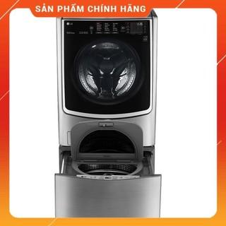 [ FREESHIP KHU VỰC HÀ NỘI ] Máy giặt LG TWINWash Inverter F2721HTTV & T2735NWLV 21KG giặt / 12KG sấy