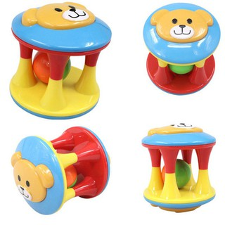 Cute funny baby rattle plastic music novelty early education educational toys