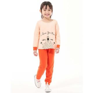 Đồ bộ Beddep Kids Clothes chất thun in hình cừu cho bé gái từ 1 đến 8 tuổi BP-G12 thumbnail