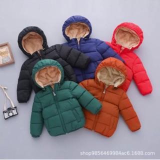 Áo phao lót lông cừu siêu ấm cho bé
