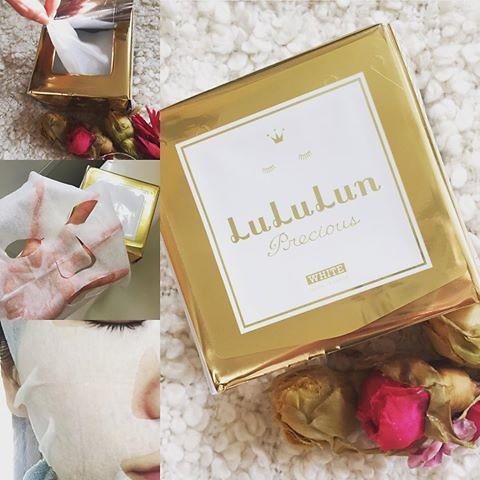 Mặt nạ dưỡng trắng Lululun Brightening Face Mask 40+ 32 miếng Nhật Bản