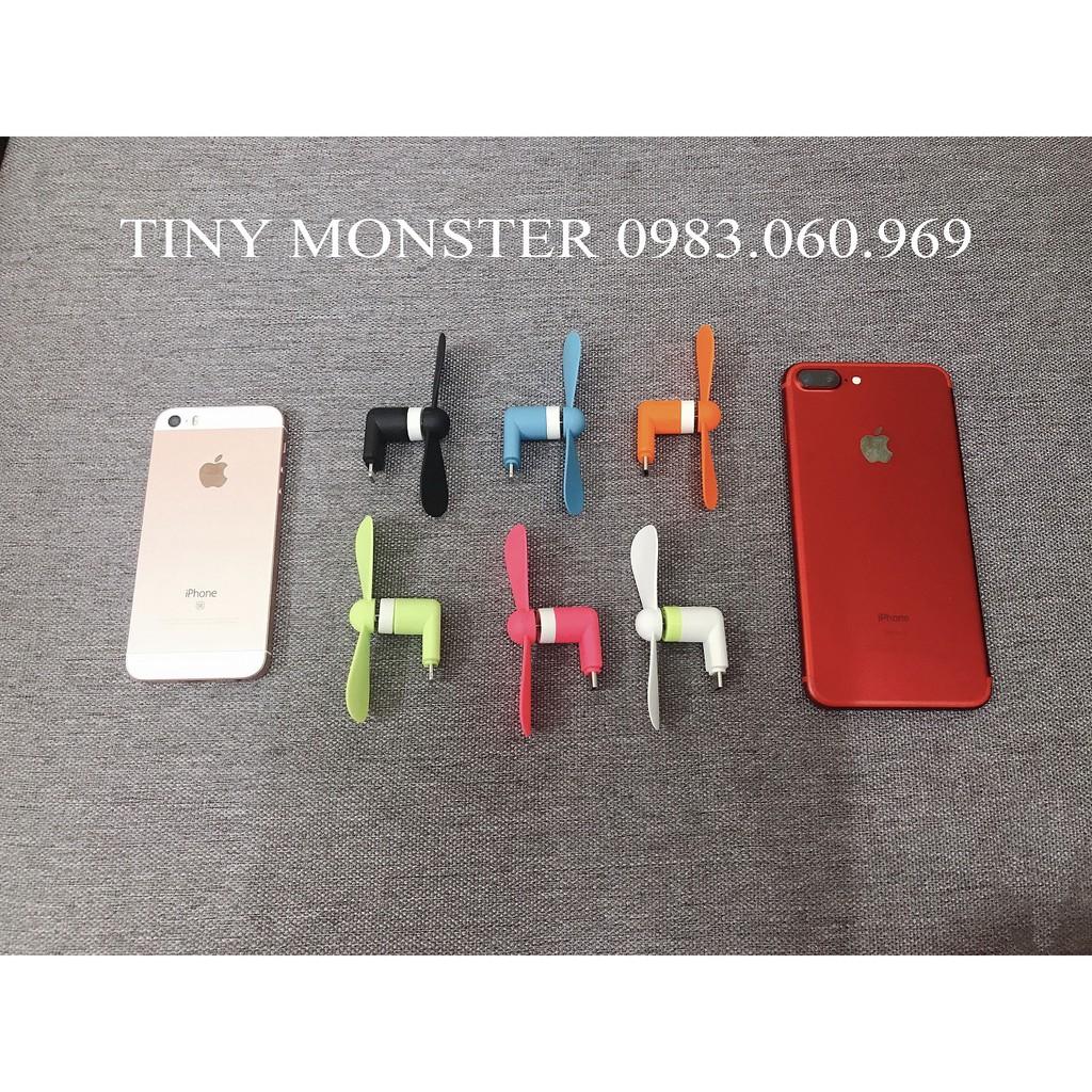 Quạt mini kết nối điện thoại