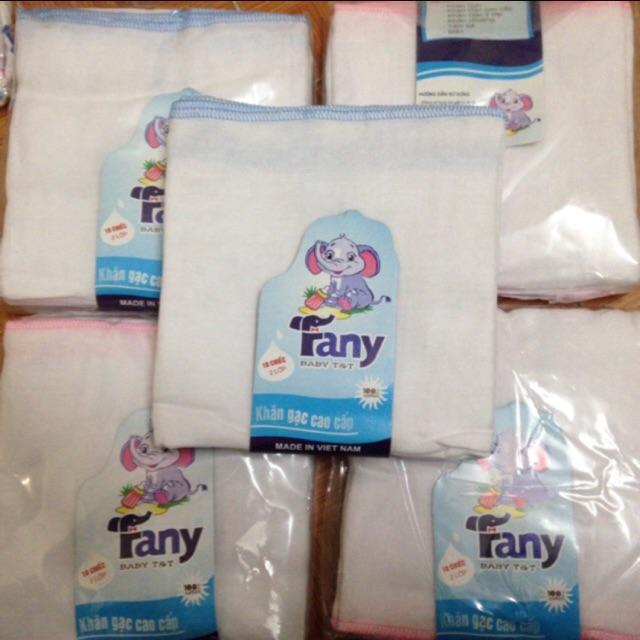 Set 10 khăn sữa fany 4L mịn