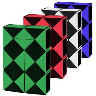 Baby 24 Blocks Children 3D Magic Cube Twist Logic Brain Teaser Game Toy Puzzle