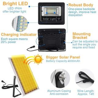 Đèn LED pha năng lượng mặt trời 30W - hình 1