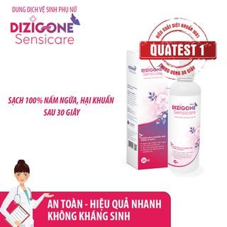 [Tiết kiệm] COMBO 3 Dung dịch vệ sinh phụ nữ DIZIGONE Sensicare - Hết ngứa chỉ sau 2 ngày 3