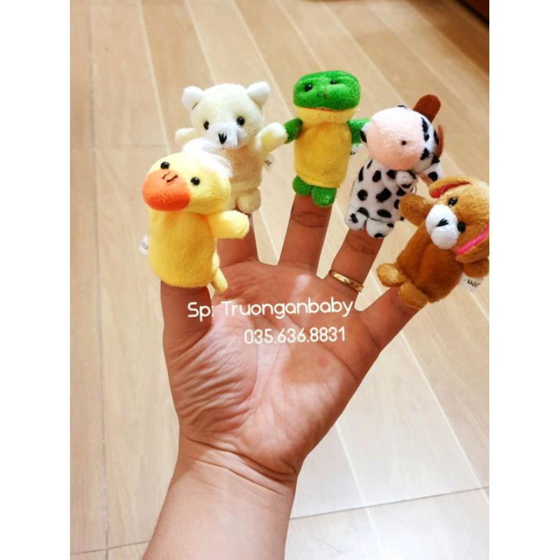 Bộ 7 con thú xỏ ngón vô cùng dễ thương