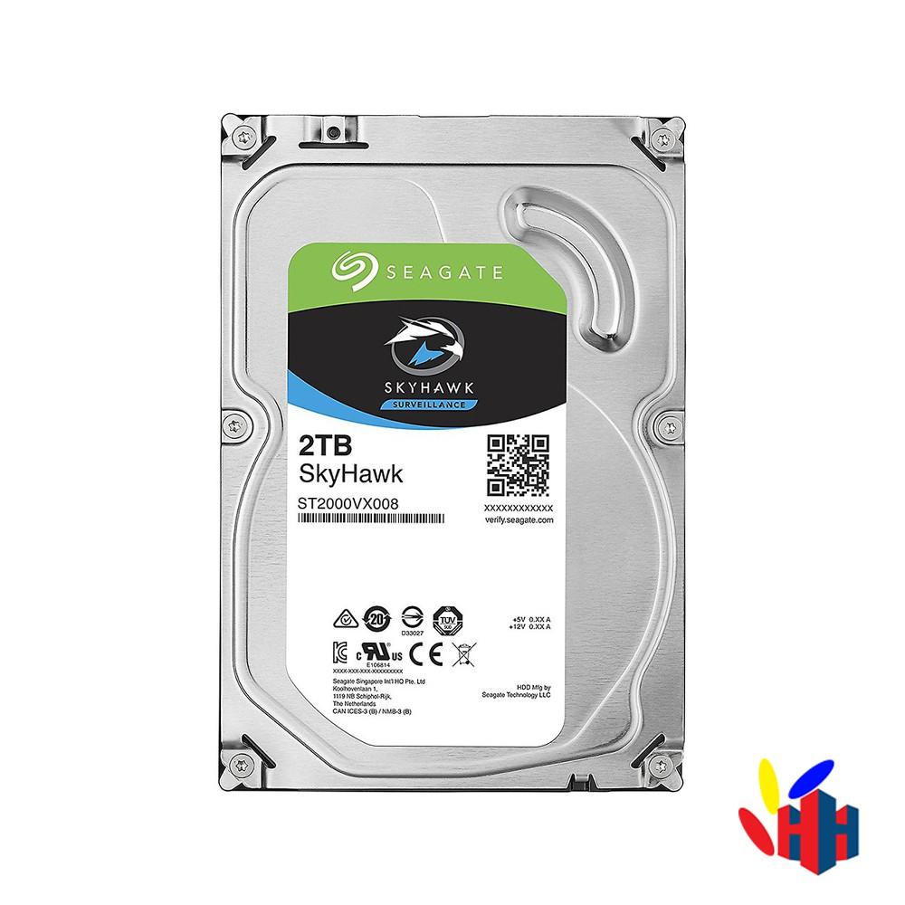 HDD Seagate Skyhawk 2TB SATA3 6GB/s – Chuyên Camera