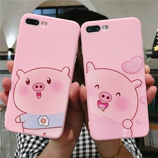 Oppo R9 R9s R11 R11s R15 Lovely Cartoon Pink Pig Animal Soft Case Cover