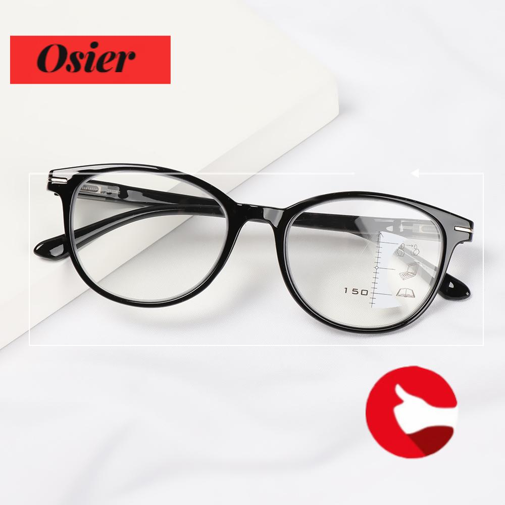 👒OSIER🍂 Men Women Presbyopia Glasses UV Protection Progressive Multifocal Reading Glasses Vision Care Readers Eyeglasses Vision Diopter Blue Light Blocking Computer Goggles