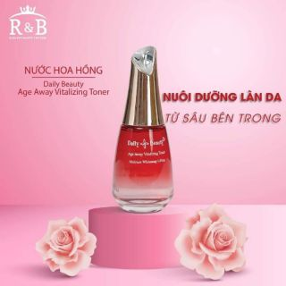 Nước Hoa Hồng Daily Beauty Age Away Vitalizing Toner thumbnail