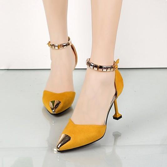Giày cao gót đế nhọn- giày cao gót nữ- giày công sở- giày nữ cao cấp