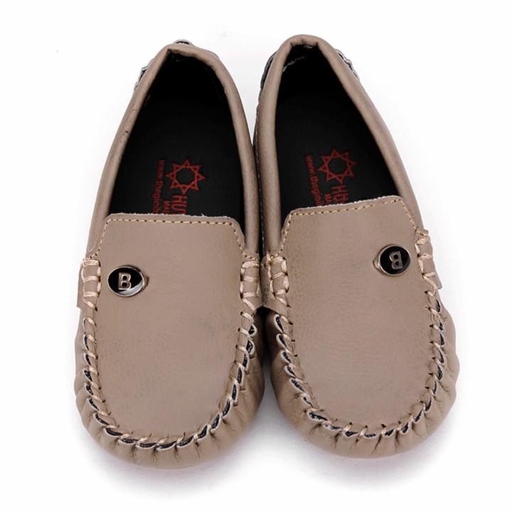 Giày Kids mọi nam màu sữa phối đá HP7813