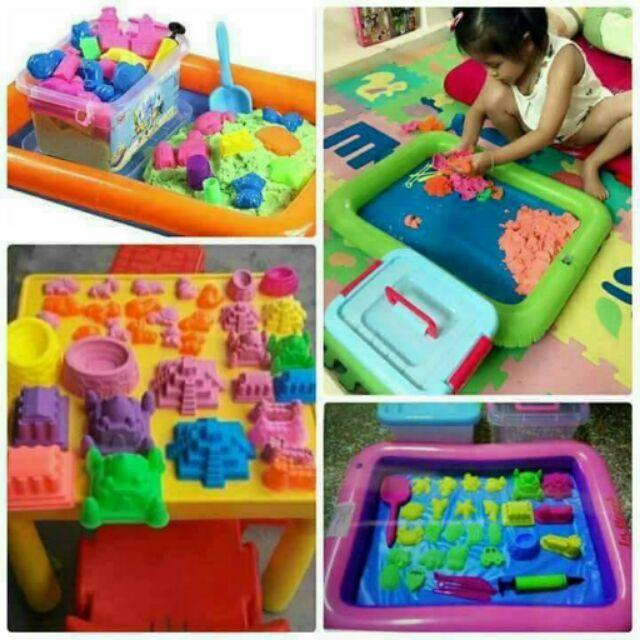 Bộ đồ chơi cát động lực cho bé
