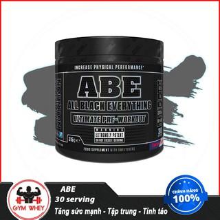 [Free ship + Quà] Tăng sức mạnh Applied Nutrition ABE Pre workout 30 lần dùng Authentic 100%