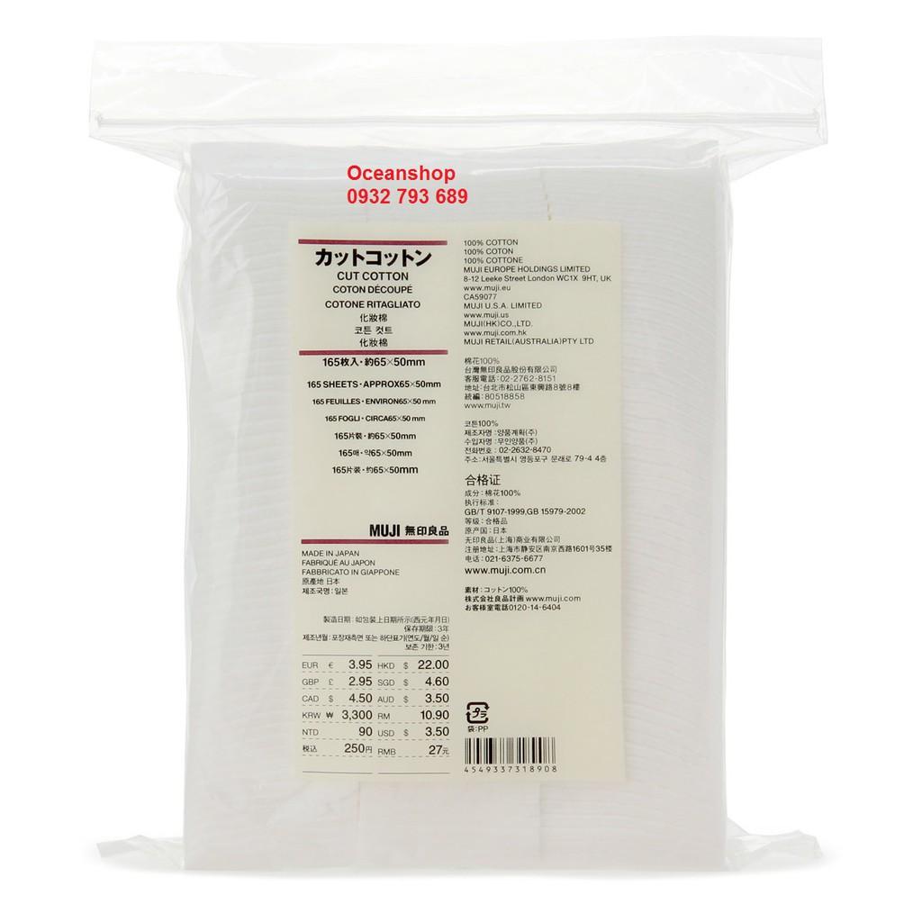 Bông tẩy trang Muji Cotton Pad 165 miếng (Bill mua tại Muji Nhật ảnh bên cạnh) - 2408862 , 642619197 , 322_642619197 , 129000 , Bong-tay-trang-Muji-Cotton-Pad-165-mieng-Bill-mua-tai-Muji-Nhat-anh-ben-canh-322_642619197 , shopee.vn , Bông tẩy trang Muji Cotton Pad 165 miếng (Bill mua tại Muji Nhật ảnh bên cạnh)