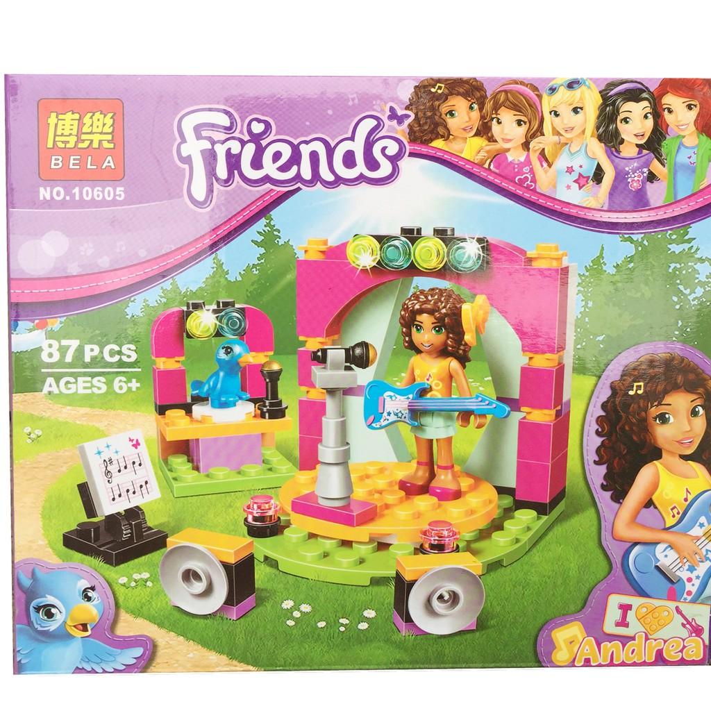 Lego xếp hình bạn gái FRIEND (Andrea chơi nhạc cụ) - 87 chi tiết