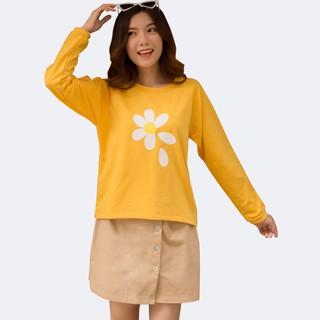 Áo Sweater nữ Dài Tay In Hoa Cúc 42-56 kg BISIC 4 màu MEEJENA - 2638 thumbnail