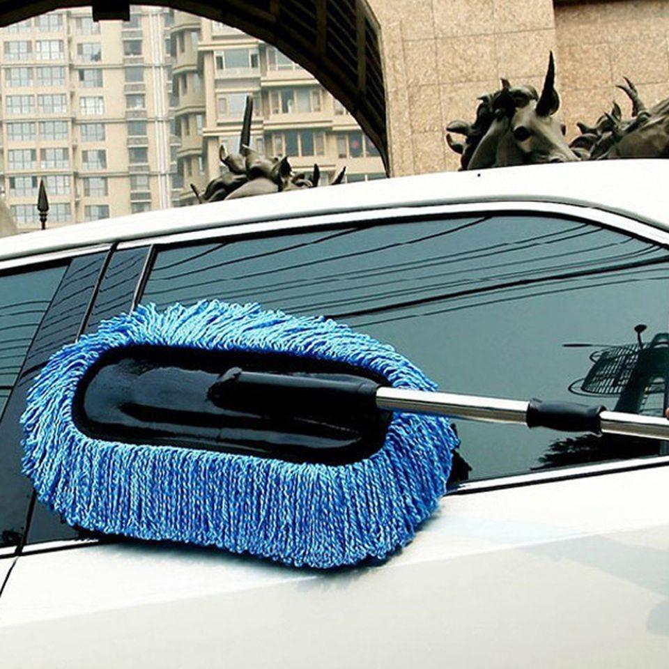 Chổi lau rửa ô tô cơ động - Điều chỉnh được độ dài