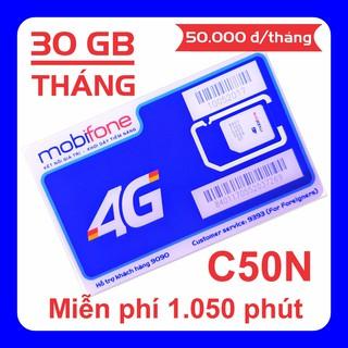 [Tặng 30 ngày sử dụng] Sim 4G Mobi C50N, gói cước siêu rẻ, data khủng thumbnail