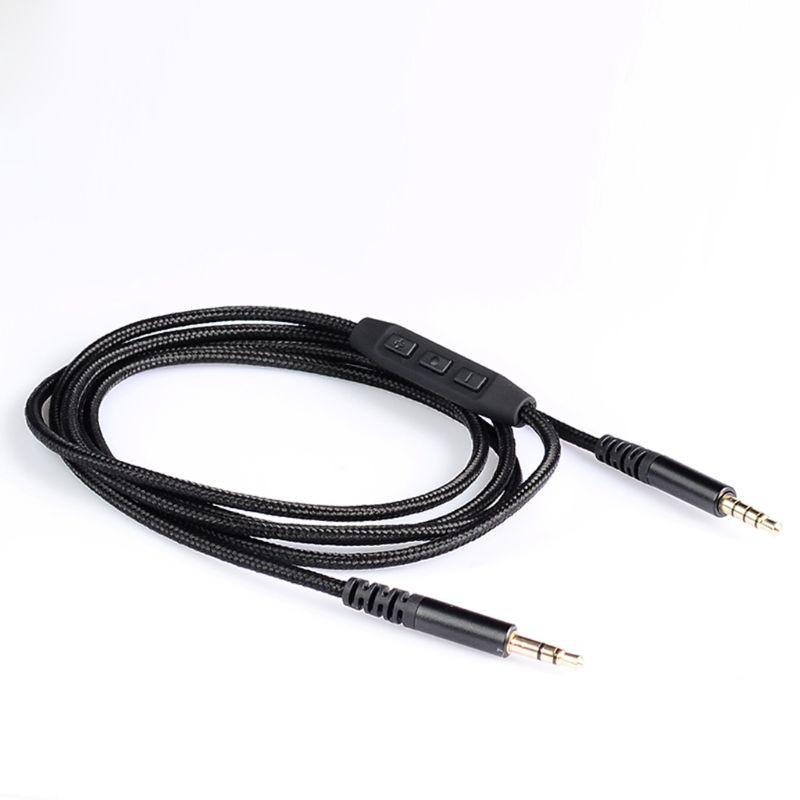 Dây cáp âm thanh dây bện dài 1.4M có đầu cắm AUX 3.5mm đến 3.5mm cho loa nghe nhạc xe hơi
