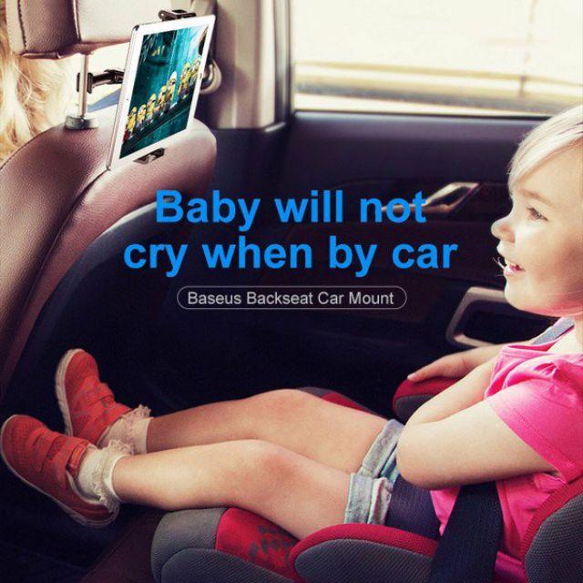 Đế giữ điện thoại / iPad trên xe hơi Baseus Backseat Car Mount LV236