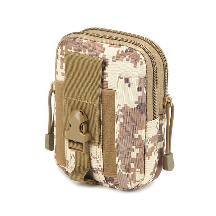 Túi Đeo Hông Rằn Ri SWAT (Màu Sắc Họa Tiết Ngẫu Nhiên)